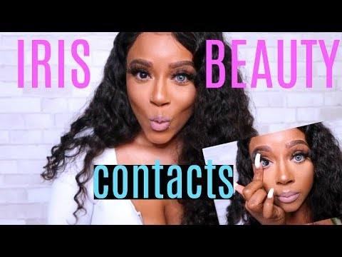 HIGHLY REQUESTED BEST CONTACTS FOR BROWN EYES | IRIS BEAUTY | ARE THEY BETTER THAN SOLOTICA?