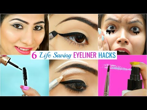 6 LIFE Saving EYELINER Hacks You Must Try | #Beauty #Makeup #Anaysa