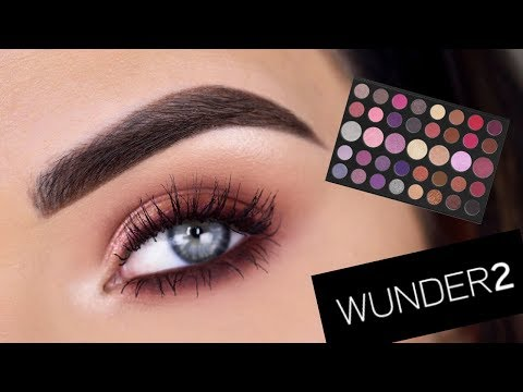 EASY Every Day Eye Makeup Tutorial (no fake lashes!) | Morphe 39S Palette
