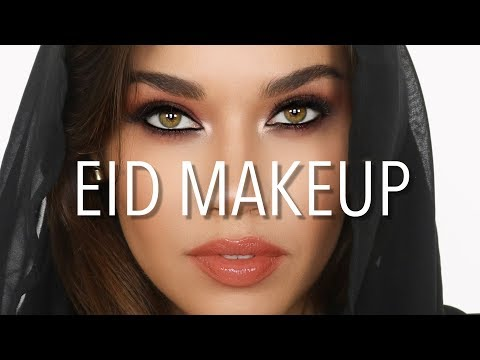 Eid Makeup Tutorial | Arabic Eyes | Eman