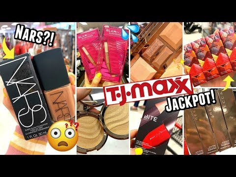 HEAVEN at TJ MAXX | ULTIMATE MAKEUP JACKPOT!! NARS, BECCA, BITE BEAUTY & MORE!