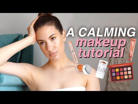 A (Very) Calming/Anti-Stress Makeup Tutorial | Jamie Paige
