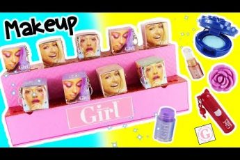 Who's That Girl GLAM Beauty Mini Makeup Mystery BOXES! Kid's Makeup & Mini Lipstick SURPRISES