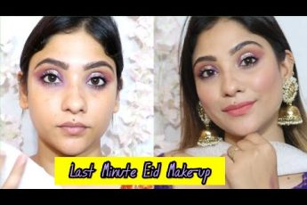 Last Minute Eid makeup || step by step tutorial || #EIDMUBARKA Series