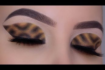 Leopard Eye Makeup | HD Makeup Tutorial In depth explanation