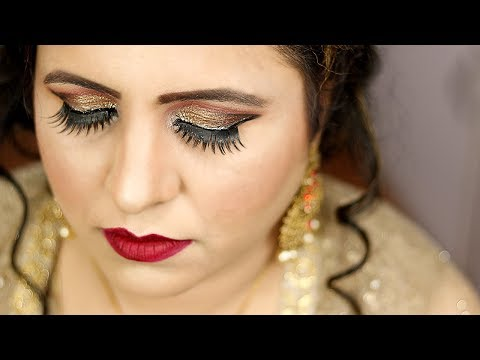 Long Lasting Party Makeup On Hooded Eyes By Prabha Makeover