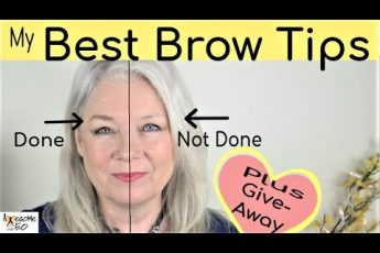 My Best Brows Makeup, Giveaway, Tips on Shaping, Filling, Natural Look, Women over 50, Part 2 of 5