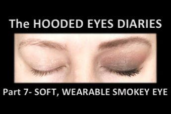 HOODED EYES makeup | SOFT matte WEARABLE SMOKEY EYE SHADOW TUTORIAL