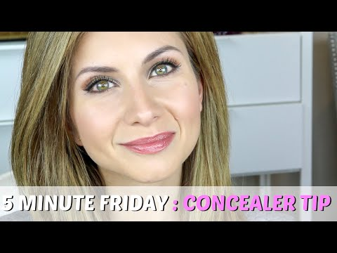 Concealer Tip to Highlight and Lift Your Eyes | 5 Minute Friday Makeup Tip