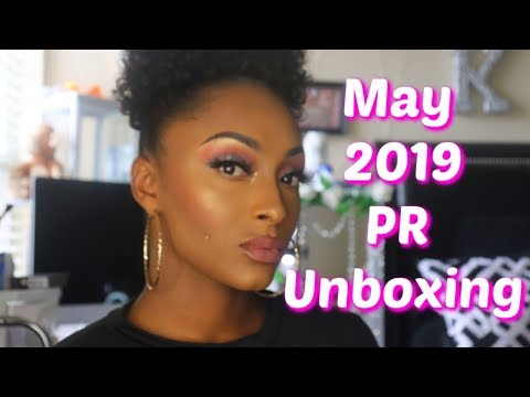 #freeproducts #publicrelations PR HAUL UNBOXING | NEW MAKEUP + BEAUTY PRODUCTS 2019 ♡|Free Products