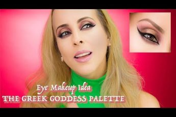 Eye Makeup Idea   The Greek Goddess Palette