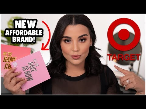 NEW AFFORDABLE MAKEUP BRAND UNDER $15 AT TARGET! | MakeupByAmarie
