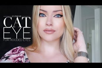 Extreme cat eye for hooded eyes   Makeup by Myrna