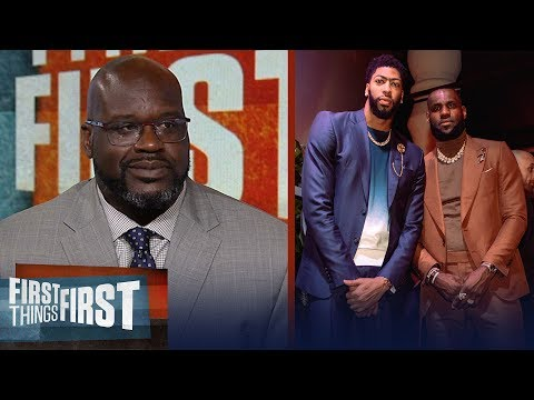 Shaq disagrees LeBron – AD are the best duo, talks state of the Lakers | NBA | FIRST THINGS FIRST