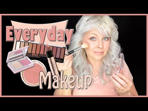 GET READY WITH ME: EVERYDAY MAKE UP LOOK | Drugstore & Luxury | OVER 40