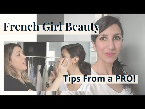 French Girl Beauty: How to Get a Natural Makeup & Hair Look | TIPS FROM A PRO
