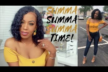 MY SUMMER TIME HAIR & MAKEUP TUTORIAL | NATASHIA PICKETT