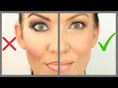 12 Makeup Mistakes on MATURE SKIN, HOODED EYES, WRINKLES – Makeup Tutorial