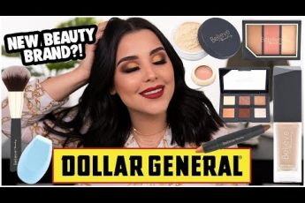 FULL FACE TESTING NEW DOLLAR GENERAL MAKEUP: NOTHING OVER $5 BELIEVE BEAUTY MAKEUP! | MakeupByAmarie