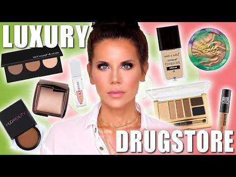 50/50 LUXURY MAKEUP vs. CHEAP MAKEUP