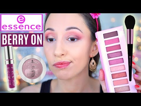 Essence Berry On Trend Edition – Review, Swatches, Makeup Tutorial | Vasilikis Beauty Tips