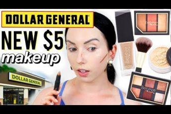 OMG! DOLLAR GENERAL'S NEW MAKEUP LINE   Believe Beauty First Impressions
