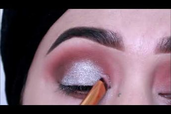 wedding guest eyes makeup like salons \ step by step eyes makeup for begginers_zainab numan