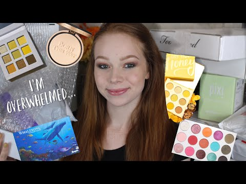 Makeup & PR Unboxing Haul | Colourpop, Menagerie, Ami Hearts Beauty, Too Faced