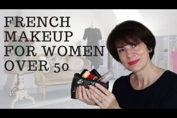 ?? FRENCH MAKEUP FOR WOMEN OVER 50
