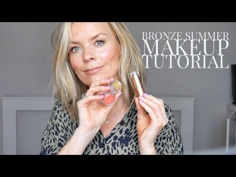 Bronze Summer Makeup Tutorial