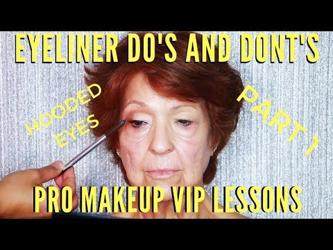 Eyeliner Do's & Don'ts To Lift Mature Eyes Mistakes To Avoid | mathias4makeup