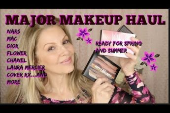 HUGE MAKEUP HAUL | READY FOR SPRING & SUMMER | Tammy's Ageless Beauty