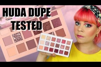 Huda Beauty the New Nude palette DUPE | Alter ego Daydream palette