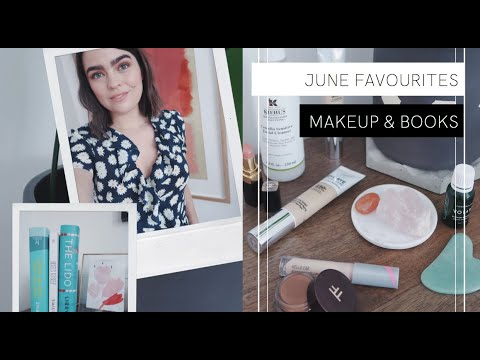 June Favourites: Makeup, Skincare & ALL THE BOOKS | The Anna Edit