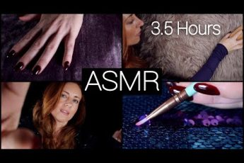ASMR ?? 3.5 HOURS  ??  Fabric Sounds ? NO TALKING [Long]