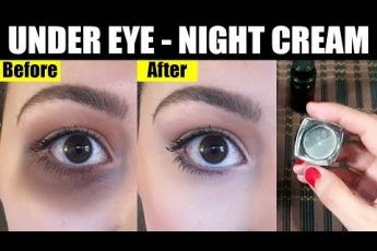 "How to Remove ""UNDER EYE DARK CIRCLES"" DIY Eyes Cream, a Wonderful Home Remedy Urdu Hindi"