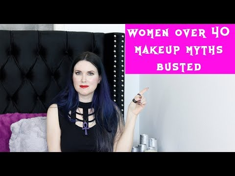 Top Makeup Myths Women Over 40 Shouldn't Do | Myths Busted!