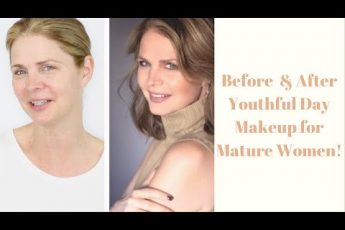 Youthful Makeup Tutorial for Mature Women! WOW
