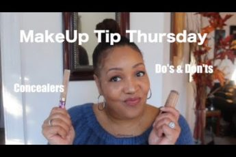 MakeUp Tip Thursday | Concealers  Do's & Dont's  Over 40| NeeCJae
