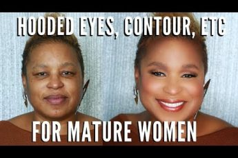 Learn How To Apply Makeup on Mature Women| Hooded Eyes, Full Coverage, Contour | mathias4makeup