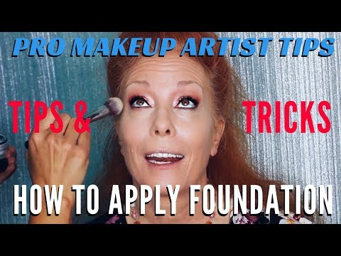 How To Apply Foundation And Concealer For Women Over 50 Part 1 | mathias4makeup