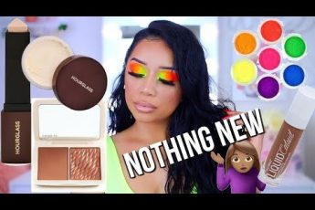 MAKEUP MONDAY   FULL FACE OF NOTHING NEW   NEON MAKEUP TUTORIAL  ohmglashes