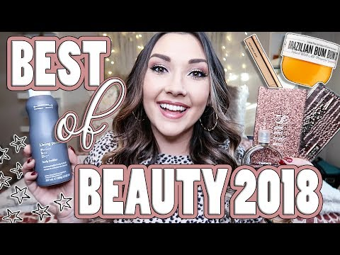 BEST OF BEAUTY 2018: Makeup, Skincare, & Hair!