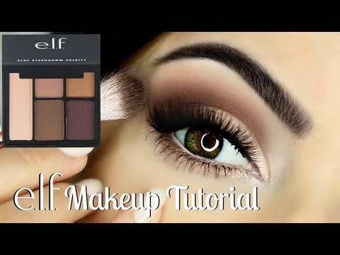 Beginners Eye Makeup Tutorial Using ELF | Parts of the Eye | How To Apply Eyeshadow