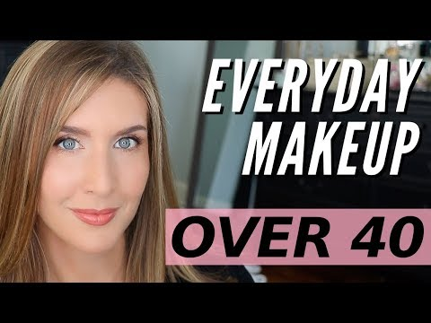 Natural Everyday Makeup Look | Over 40 Makeup
