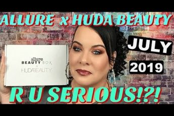 I Can't Believe My Eyes! // Allure Beauty Box x Huda Beauty Unboxing July 2019