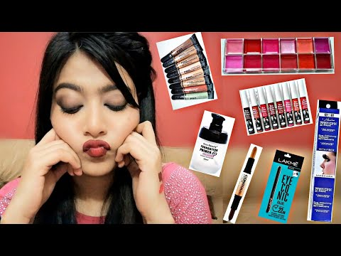 Most Affordable Brand Makeup Review   kiss beauty products اردو / हिंदी