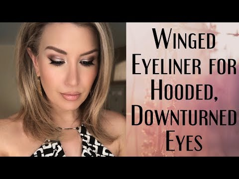 HOODED and DOWNTURNED EYES? Why You Can't Do Winged Eyeliner + Tips To Improve Your Skills!