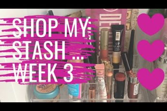 SHOP MY STASH #3 | Weekly makeup selection | Beauty Over 40