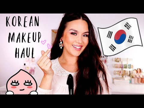 HUGE K-BEAUTY HAUL | KOREAN MAKEUP + SKINCARE